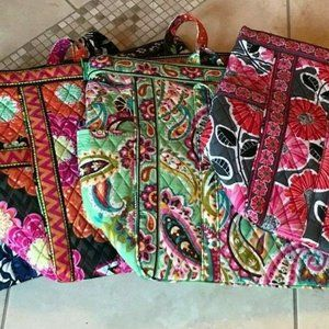 Vera Bradley Get Carried Away Large Tote Carry On